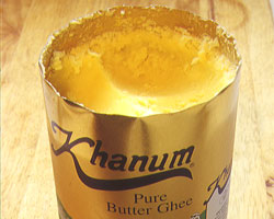 Tin of ghee